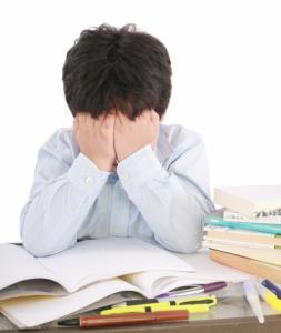 Et frustrert og stresset barn
