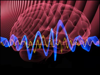 Hjernebølger under meditasjon.