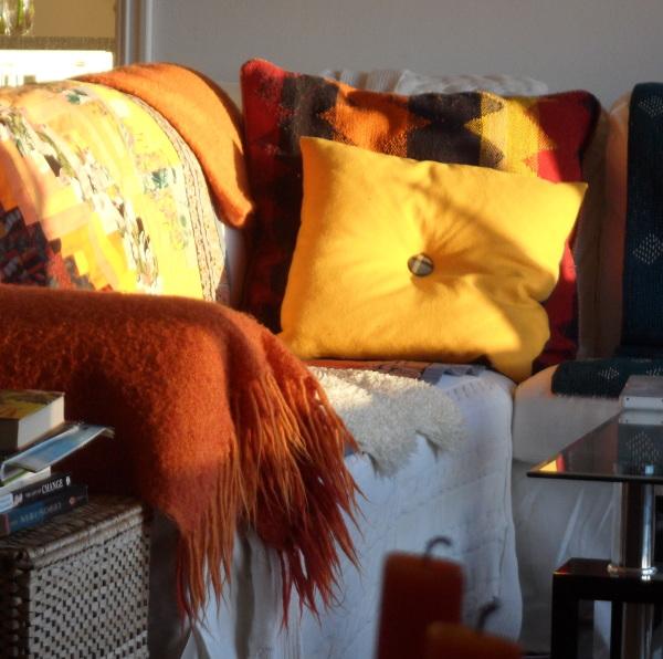 Sofaen hjemme