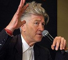 David Lynch med mikrofon