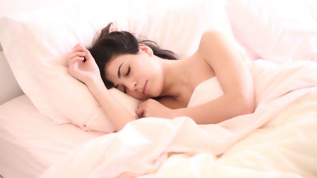 Søvnproblem er løst. Hun sover dypt!