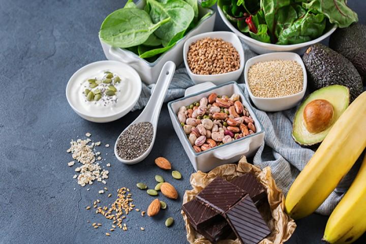 Mat som er rik på magnesium