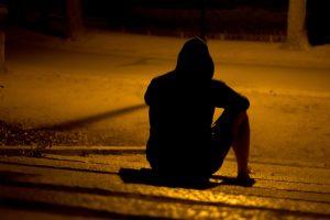 Her lider av depresjon