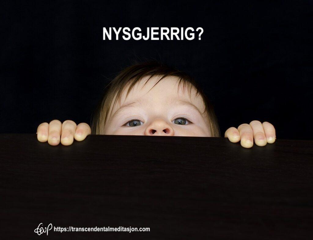 Et barns nysgjerrighet