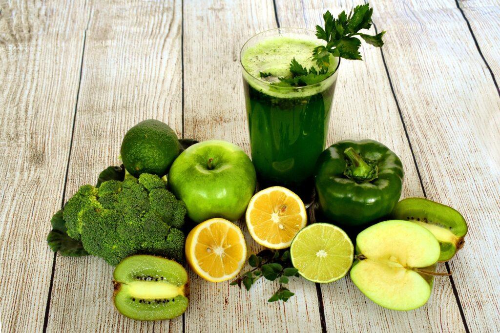 Grønne grønnsaker er proppfulle av C-vitaminer
