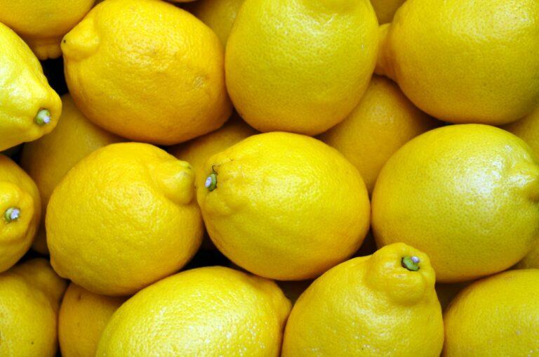 Sitroner stappfulle av C-vitaminer